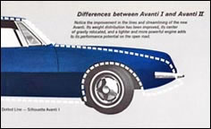 Avanti II Differences